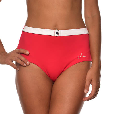 LIVIA Maillot de bain culotte haute Tamarindo Rouge