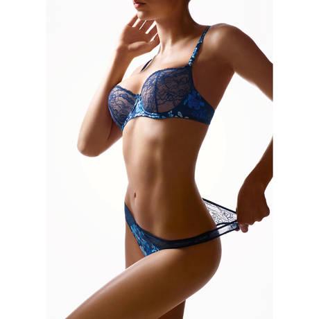 AUBADE Soutien-gorge corbeille Charme d'Eden Lazuli