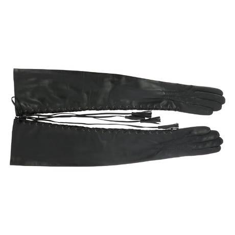 DITA VON TEESE Gants à lacets The Fetiche Les Gants Dita Von Teese Noir
