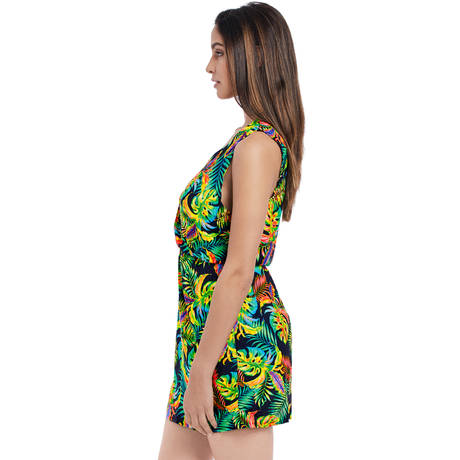 FREYA Robe de plage Electro Beach Tropical