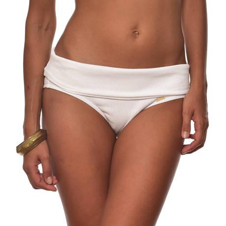 LIVIA Maillot de bain culotte haute Mantova Blanc