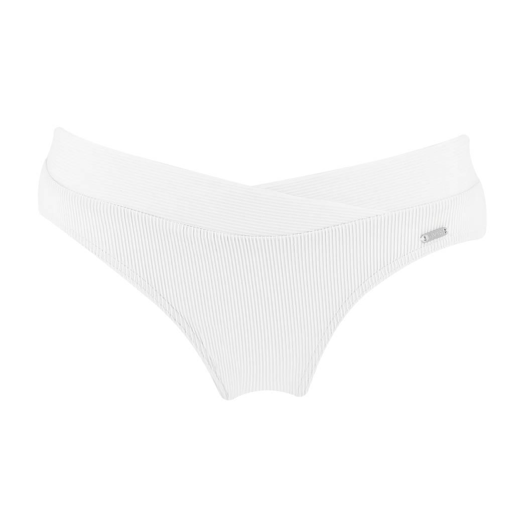 LIVIA Maillot de bain slip taille basse Mantova Blanc