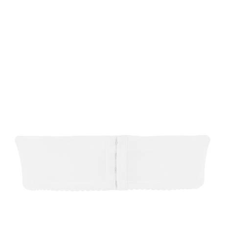 ANTINÉA Soutien-gorge bandeau Perles en Fleur Ecru Nacre