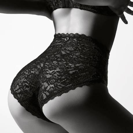 AUBADE Culotte haute Rosessence Noir
