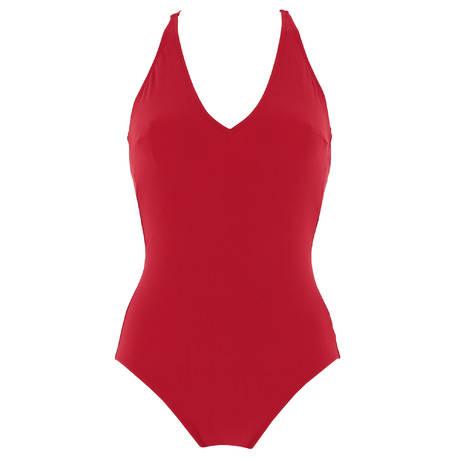 ANTIGEL Maillot de bain 1 pièce nageur La Smart Chérie Rouge Smart