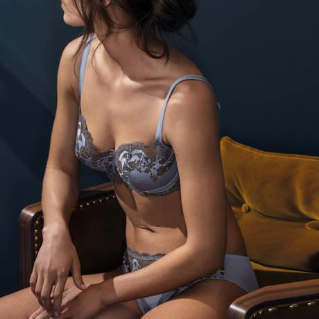 WACOAL Soutien-gorge armatures Lace Affair Eventide-Grey