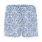 HANRO Short Sleep & Lounge Bleu/Blanc