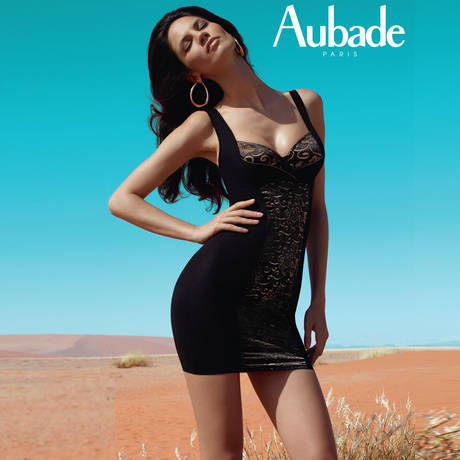 AUBADE Fond de robe invisible Hypnodream Noir