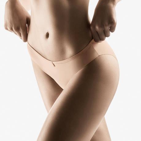 AUBADE Slip brésilien Onde Sensuelle Nude