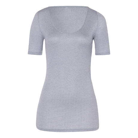 HANRO Top manches courtes Heather Lilac Grey