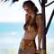 PAIN DE SUCRE Maillot de bain culotte taille haute Tobago Sensitive Kaa Kaa