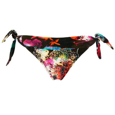 PAIN DE SUCRE Maillot de bain slip lacets Sensitive Sea Flower Seaflower