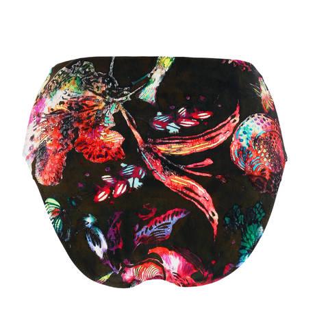 PAIN DE SUCRE Maillot de bain culotte taille haute Sensitive Sea Flower Seaflower
