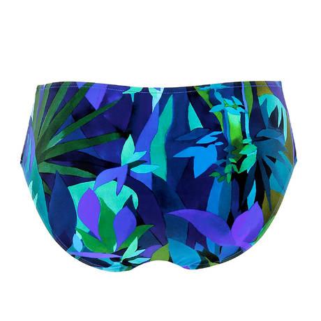 LISE CHARMEL Maillot de bain slip jupette Aquarelle Nautique Tahiti Aquarelle
