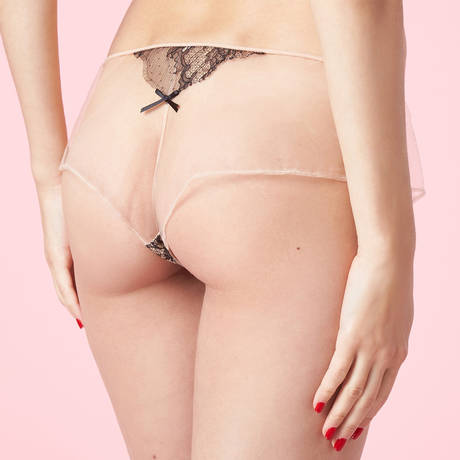 CHANTAL THOMASS Shorty Intuition Noir/naturel