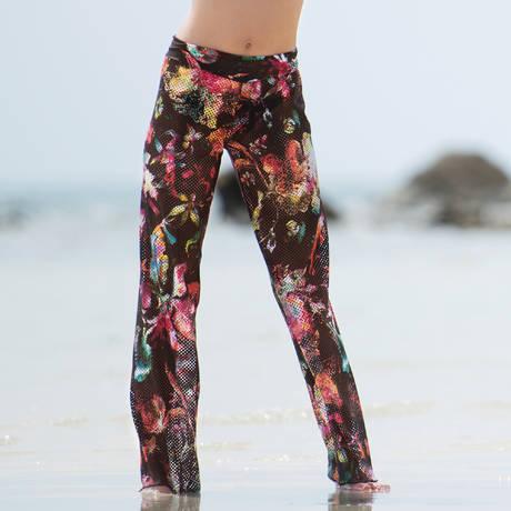 PAIN DE SUCRE Pantalon Sensitive Sea Flower Seaflower