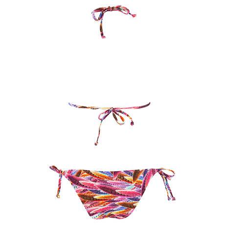 SORAYA Maillot de bain 2 pièces triangle Apache Multicolore