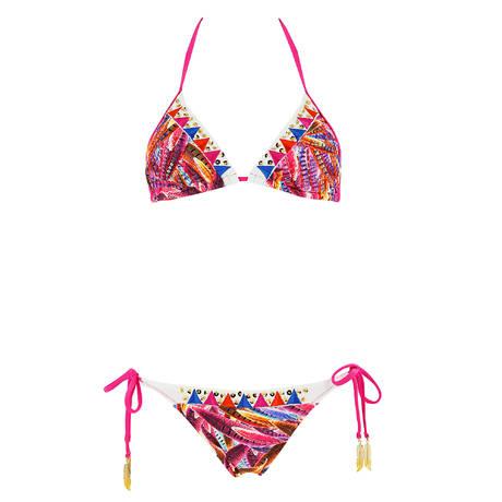 SORAYA Maillot de bain 2 pièces triangle Lily Apache Multicolore