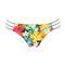 BANANA MOON Maillot de bain slip Bayside Multicolore