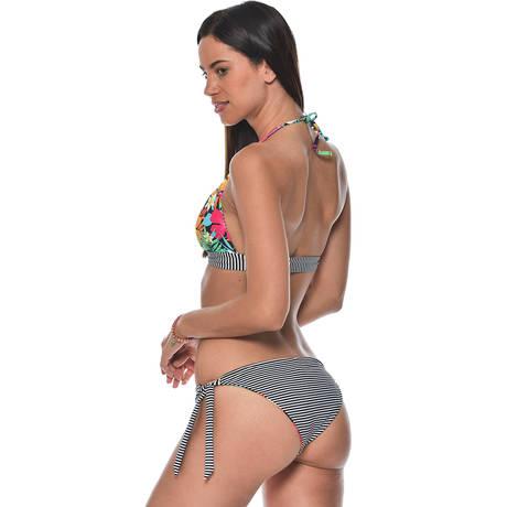 BANANA MOON Maillot de bain triangle réversible Bayside Multicolore