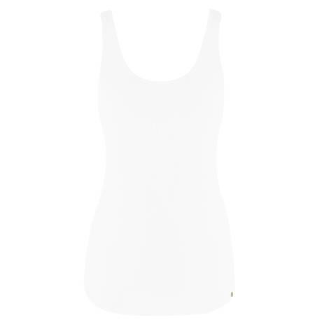 HANRO Top sans manches Essentials Blanc