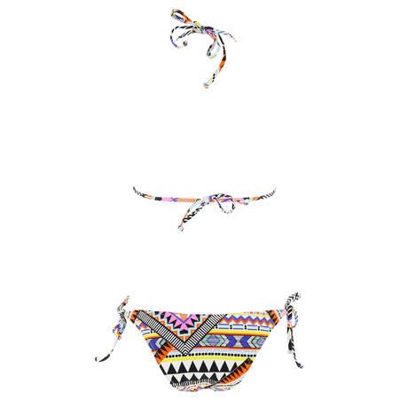 SORAYA Maillot de bain 2 pièces triangle Paraguay Multicolore