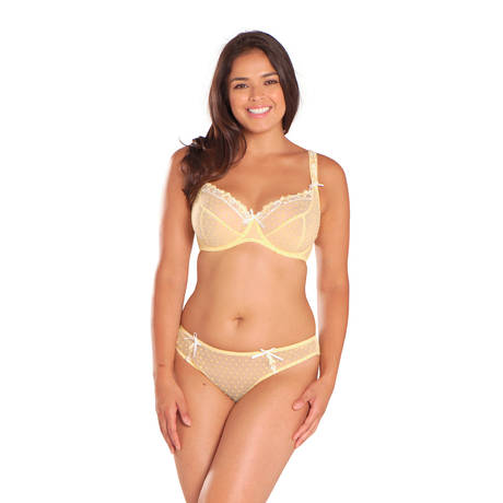 CURVY KATE Slip brésilien Princess Lemon