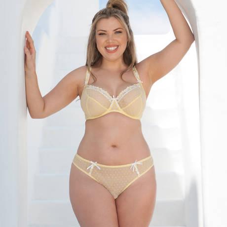 CURVY KATE Slip brésilien Princess Lemon