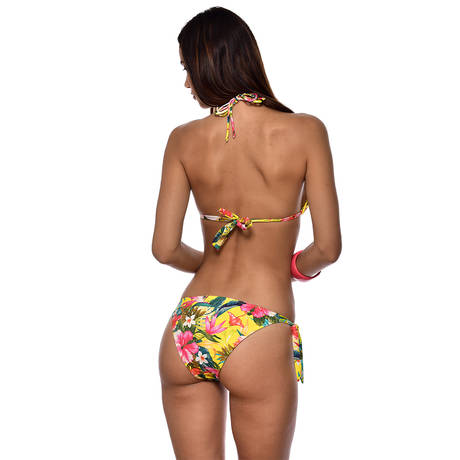 BANANA MOON Maillot de bain triangle coques Corozal Jaune