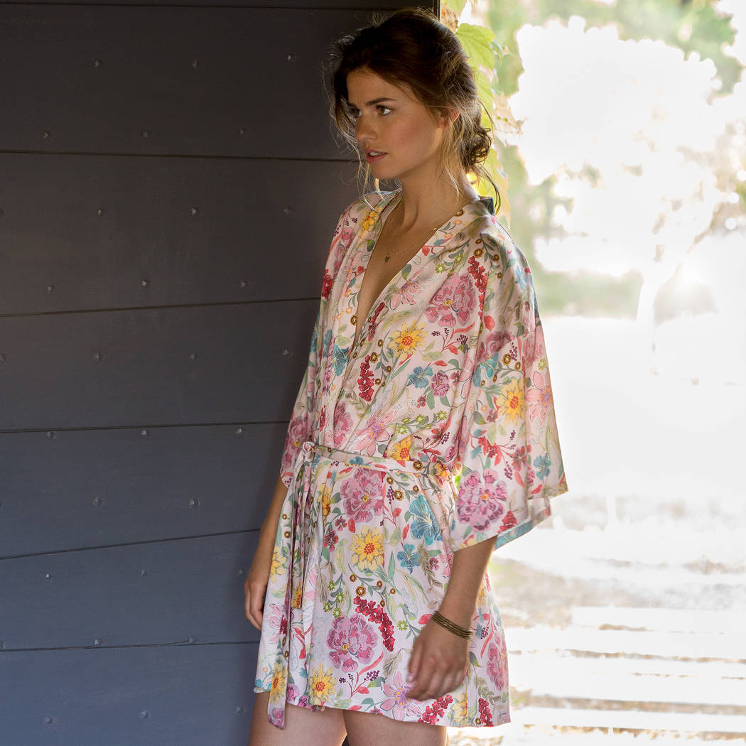 LE CHAT Kimono Escapade Multicolore