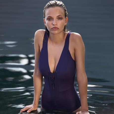 PAIN DE SUCRE Maillot de bain 1 pièce nageur Bonnie Sensitive Uni Life Violet