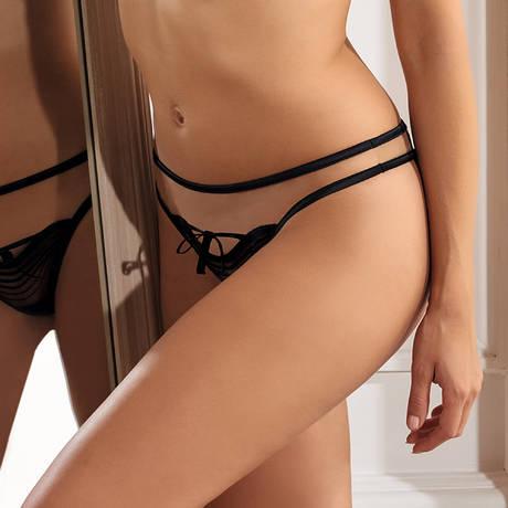 MILLESIA String Coquine Noir