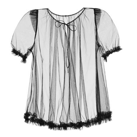 DITA VON TEESE Blouse Loungewear Noir