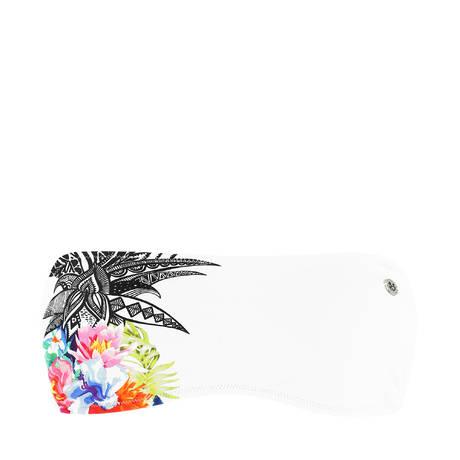 BANANA MOON Maillot de bain bandeau coques Pinacola Blanc