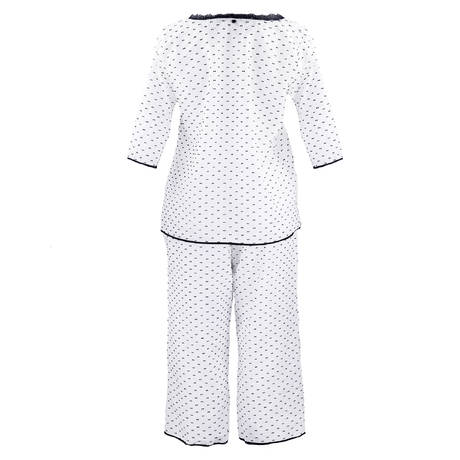 TECCIA Pyjama Aube5 Blanc