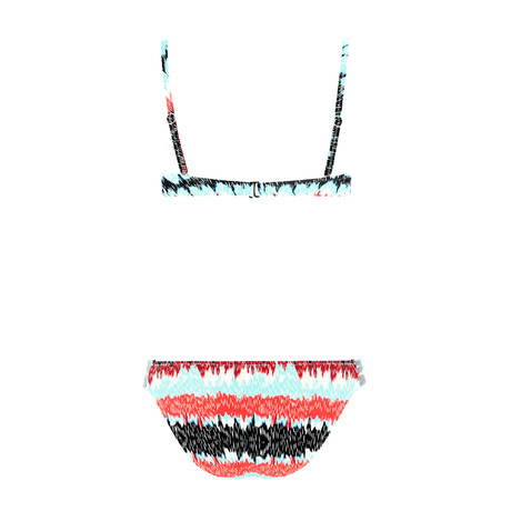 SORAYA Maillot de bain 2 pièces bandeau Suzy Lagon Multicolore