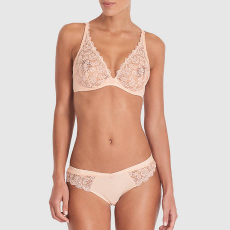 AUBADE Soutien-gorge triangle push-up Secret de Charme Nymphe