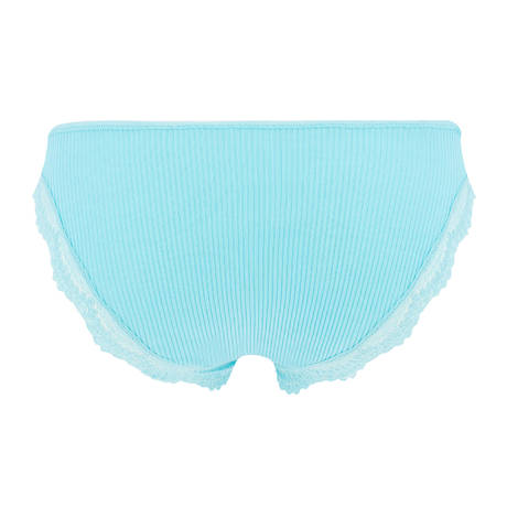 OSCALITO Culotte en coton fil d'écosse Bleu Turquoise