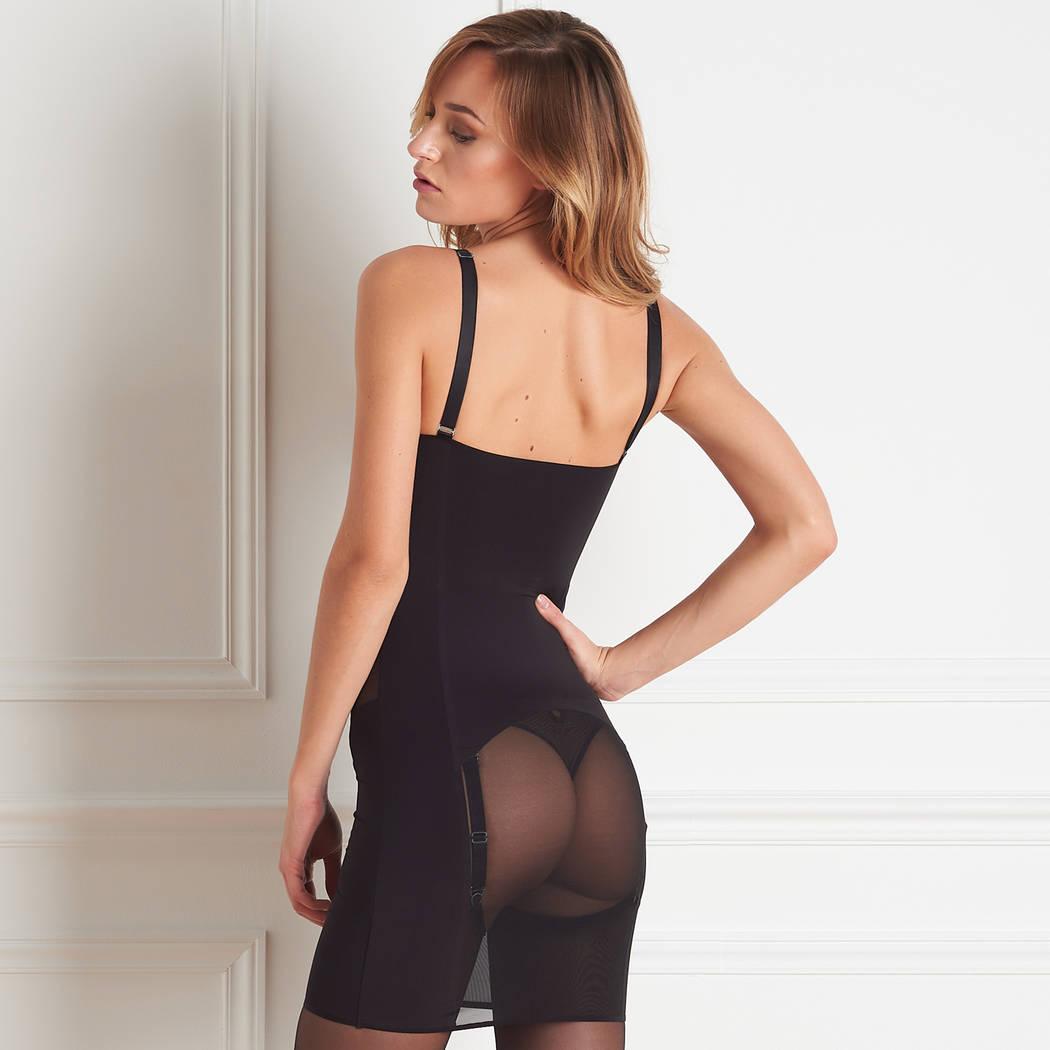 MAISON CLOSE Robe Belle de Jour Noir