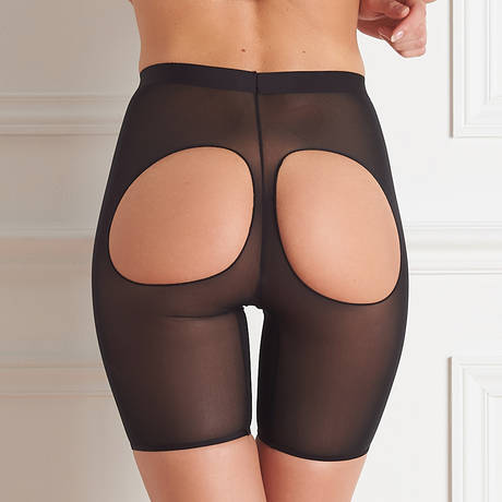 MAISON CLOSE Panty fesses nues Belle de Jour Noir