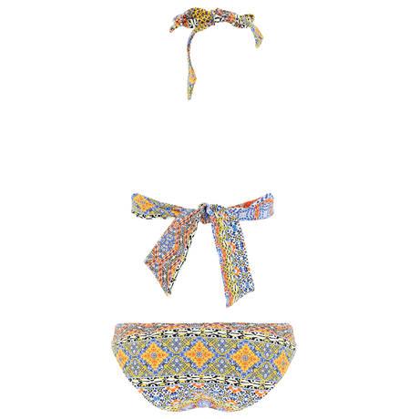 SORAYA Maillot de bain 2 pièces triangle Emma St Rémy Multicolore