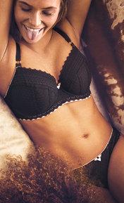 Freya Daisy Lace Noir