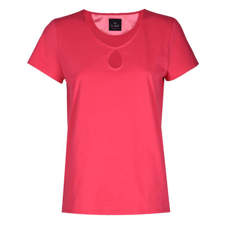LE CHAT T-shirt Essentiel Geranium