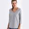 HANRO Sweatshirt Pure Comfort Mid Melange