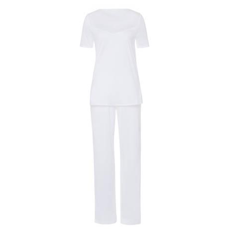 HANRO Pyjama Melissa Blanc