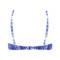 CHANTELLE Maillot de bain triangle armatures Hippie Chic Bleu tie & dye