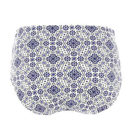 CHANTELLE Maillot de bain Culotte haute Baleares Mosaic
