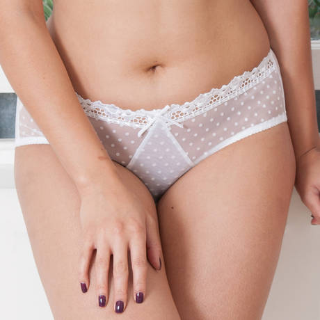CURVY KATE Shorty Princess Blanc