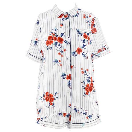 ANTINÉA Pyjama short Destination Rivage Rivage Blanc