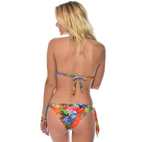 BANANA MOON Maillot de bain push up Moonbay Rouge